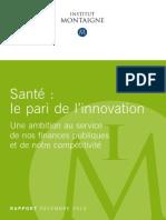Rapport innovation en santé