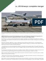 American Airlines, US Airways Complete Merger _ News.com