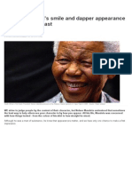 Nelson Mandela's Smile and Dapper Appearance Hid Pain of His Past _ News.com