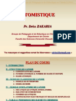 0 - Plan Du Cours Atomistique