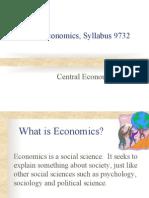 Central Economic Problem (H2 and H1) Set 1 (18 Feb 2013)