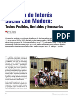 Arquitectura_vivienda de Interes Social de Madera