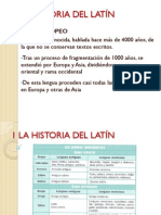 Tema 1 Latin 4 ESO Historia Del Latin Pw Point