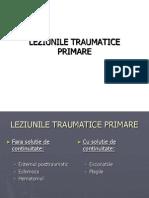 LEZIUNILE TRAUMATICE PRIMARE