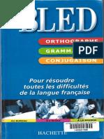 Bled Grammaire Conjugaison