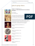 ELLENIZO, fichas de griego clásico_ FICHA 14_ LA DECLINACION EN UNA CÁSCARA DE NUEZ