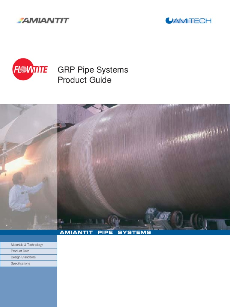 US Flowtite Product Guide | Pipe (Fluid Conveyance) | Fiberglass