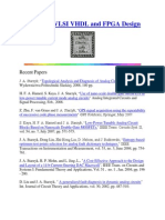 Papers on VLSI VHDL and FPGA Design