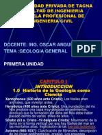 GEologia I Unidad
