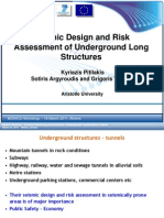 1. Pitilakis - Seismic Design and Risk Assessment of Underground Long Structures
