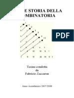 Storia Della Combinatoria