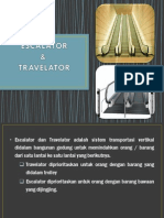 Travelator & Eskalator