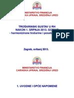 Trošarinski sustav u RH nakon ulaska u EU
