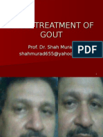 Drug Treatment of Gout