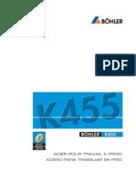 Acero Bohler K455FSp