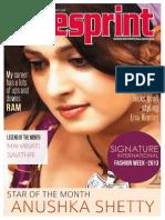 South Indian Movie Magazine | Cinesprint Magazine | kollywood Cine Magazine | Cinesprint Volume 2 Issue 7