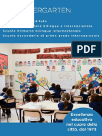 Brochure scuola Kindergarten Firenze