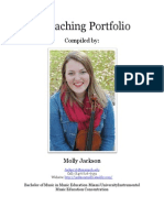 a teaching portfolio