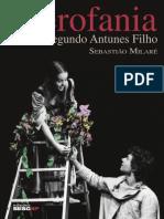 Livro Hierofania o Teatro Segundo Antunes Filho
