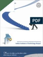 IITK IME Placement Brochure 2009 - 10