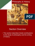 5.2 Greek Philosophy & History