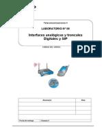 Laboratorio 08 - Interfaz FXS o FXO y Troncales RDSI, SIP