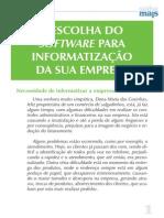 A Escolha do Software Para Informatização de Sua Empresa