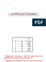 Kuliah 6 (polinomial)