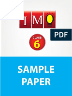 Class 6 Imo 4 Years Sample Paper