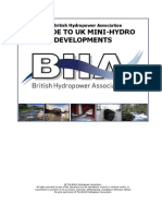 A Guide to UK Mini-hydro Development v3