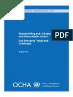 Occasional Paper Peacebuilding