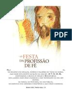 Festa da Profissa¦âo de Fe¦ü (Entrega do Credo) B 2012
