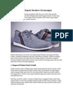 Cara Merawat Sepatu Sneakers Kesayangan
