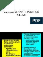 U_ Evolutia Hartii Politice a Lumii