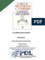 Carlos Drummond de Andrade - O Avesso Das Coisas