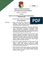Peraturan Daerah Kabupaten Mukomuko Nomor 6 Tahun 2012 Tentang Rencana tata Ruang Wilayah Kabupaten Mukomuko Tahun 2012 - 2032