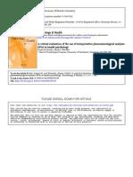 IPA_CriticalEvaluation21634
