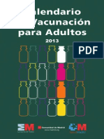 vacunas adultos calendario