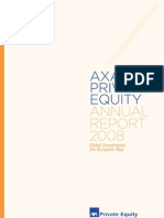 AXA Private Equity 2008 Annual Report