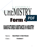 Chemistry Form 4 Chapter 9 Manufacture Substances in Industry