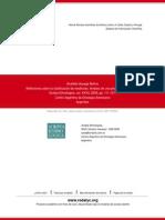 Reflexiones sobre la clasificación de medicinas. Análisis de una propuesta conceptual