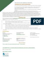 UNIVERSIDAD NACIONAL DE LUJÁN COOPERACION INTERNACIONAL