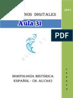 Morfologia Historica Del Espanol