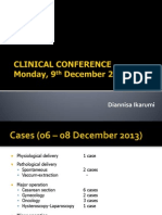 Clinical Conference 091213