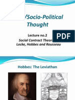 Rizal SPT Lecture 2 Social Contract Theories