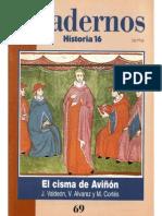Cuadernos Historia 16, nº 069 - El Cisma de Aviñón