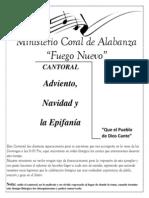 Cantoral Adviento Fuego Nuevo Para Asamblea 2013
