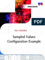 Sampled Values Configuration Example