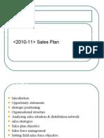 Sales Plan Ppt