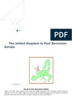 The UK in Post Recession Europe